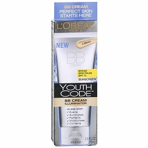 L'Oreal Youth Code BB Cream Illuminator SPF 15, Light - 2.5 fl oz